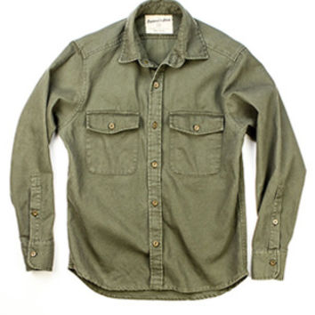 Huckberry | The Explorer's Shirt