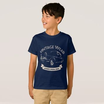 Vintage Wear - Authentic Original Design T-Shirt