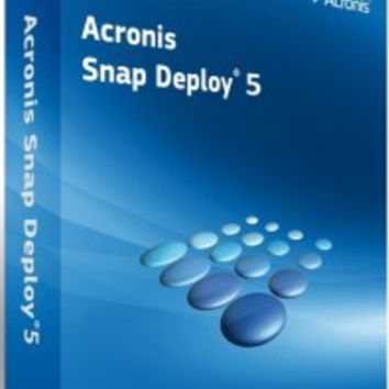 Acronis Snap Deploy 5 Crack + License Keygen