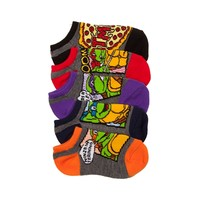 Toddler Teenage Mutant Ninja Turtles 5Pk Footies