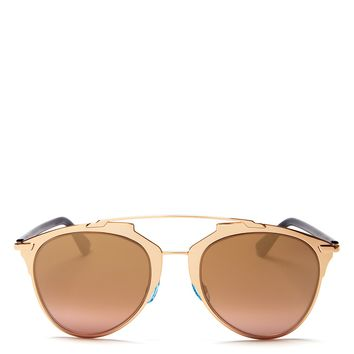 Dior Reflective Mirror Aviator Sunglasses