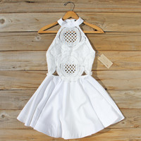 Siena Lace Dress in White
