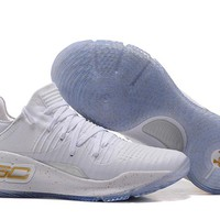 Under Armour SC30 Stephen Curry 4 Low White Sport Sneaker