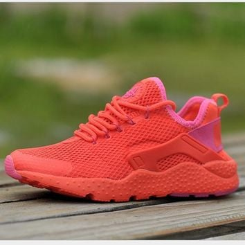 NIKE AIR Huarache Fashion Sport Running Ventilation Sneakers Sport Shoes Red-5