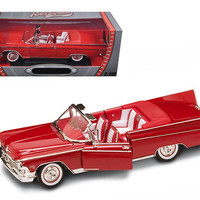 1959 Buick Electra 225 Convertible Red Diecast Model Car 1-18 by Road Signature
