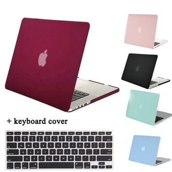 MOSISO for Macbook Pro 13 Retina A1425/A1502 Crystal Matte Plastic Hard Case Cover for Mac Book Pro15 A1398 Laptop Shell Cover