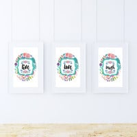 Live, Love, Laugh, Motivational, Inspirational, Instant Download, Wall Decor, Spring Decor, Quotes, Wise Words, Typography, Home Decor
