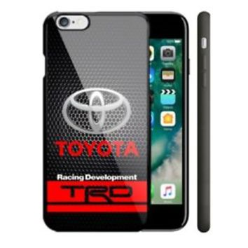 Toyota TRD Black Carbon For iPhone Samsung 6 6s 7 S6 S7 S8 Edge Plus Phone Case