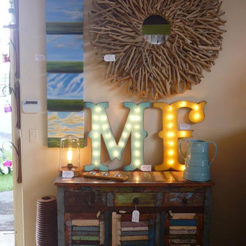 "24"" LARGE Circus Carnival Vintage Marquee Letters Wood...........       A B C D E F G H I J K L M N O P Q R S T U V W X Y Z"