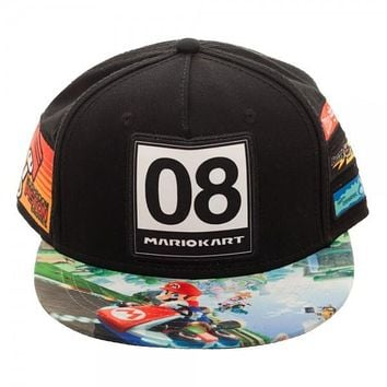 Nintendo Super Mario Kart Youth Omni Color Snapback Hat
