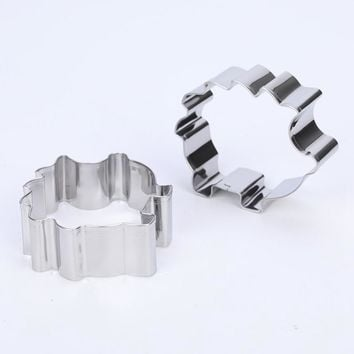 Fondant Cake Cookie Cutter Decorating Tools Biscuit Mold Stainless Steel Hedgehog Shape