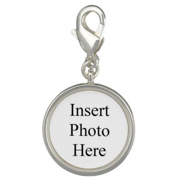 Create Your Own Sterling Silver Plated Charm