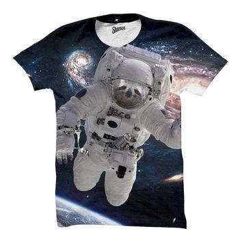 Sloth Astronaut T-Shirt