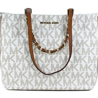 MICHAEL Michael Kors Harper Large East West Signature Tote