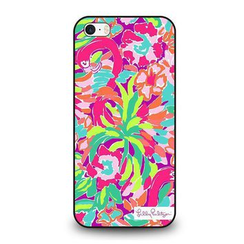 lilly pulitzer summer iphone se case cover  number 1