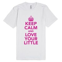Big Sis Lil Sis Reveal - Keep Calm And Love Your Little-T-Shirt
