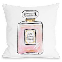 Hello Beautiful Perfume Pillow by Timree Gold