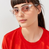 Cry Baby Cat-Eye Sunglasses | Urban Outfitters