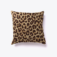 Leopard Print Decorative Pillow
