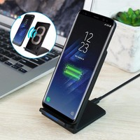 QI Fast Wireless Charger For Samsung Note 8 S8