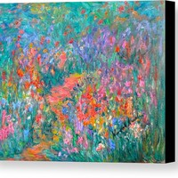 Wildflower Mist Canvas Print
