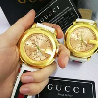 Gucci Classic Fashion Women Men Movement Quartz Watch Wrist Watch Jewelry I/A