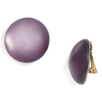 Alexis Bittar Lucite® Medium Dome Clip Earrings | Nordstrom