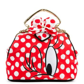 Irregular Choice Mickey Mouse & Friends Collection Women's I Heart Minnie Red Bag - Beauty Ticks