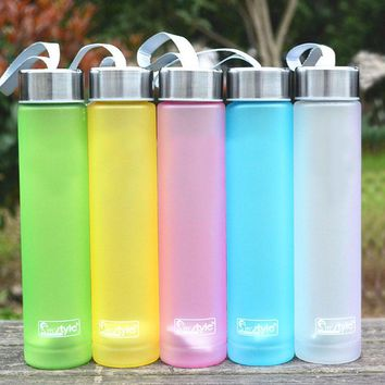 Cheap Camping Portable Plastic Bottles for Outdoor Sports, Cycling, Traveling