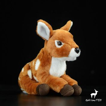 Sika Deer Stuffed Animal Plush Toy