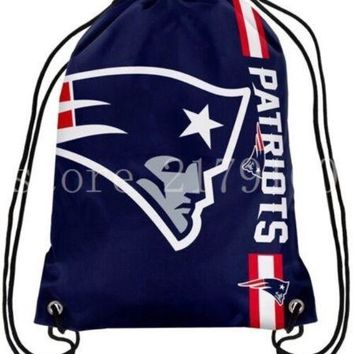 Hot Item. New England Patriots Outdoor Flag Backpack with Metal Grommets