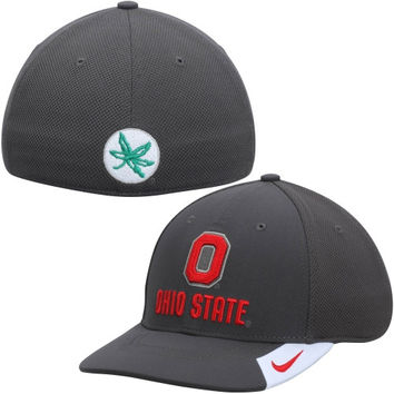 Ohio State Buckeyes Nike Conference Legacy 91 Performance Flex Hat – Anthracite