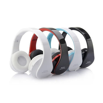 Foldable Wireless Bluetooth Stereo Headset Handsfree Headphones Mic for iPhone iPad PC V650 = 1646015236