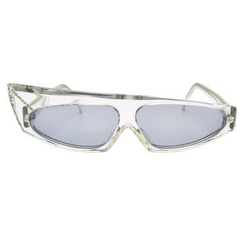 Mikli Vintage Clear Asymmetrical Space Sunglasses 305 100