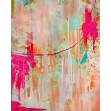 Jellyfish Colorful Abstract Art