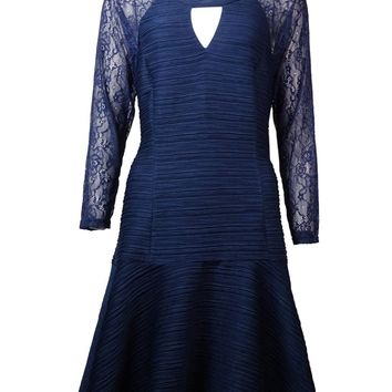 Guess LA Women's Odile Lace Textured Dress