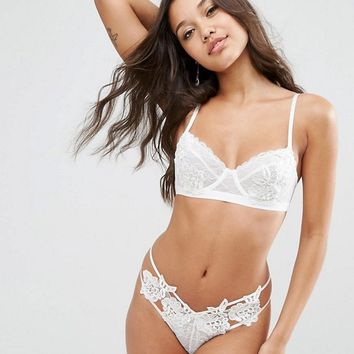 ASOS Bridal Ivy Underwire Set at asos.com