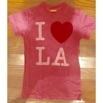 Girls Junk Food I Heart LA T-Shirt