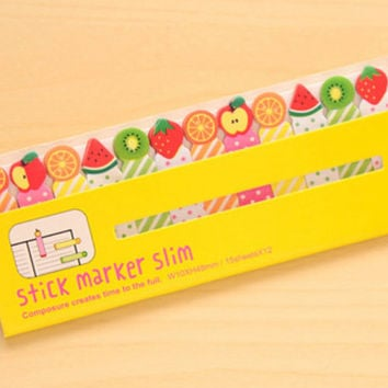 Fruits - Sticky Post It Memo Note Pad 180sheets SS305