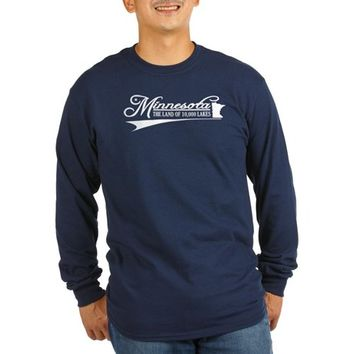 Minnesota State of Mine Long Sleeve Dark T-Shirt