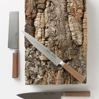 Cork Knife Set by Anthropologie Neutral One Size Kitchen