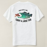 Fish with Attitude by Artist Mike Quinn T-Shirt