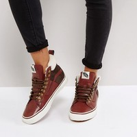 Vans Sk8 Hi Mte Shearling Lined Sneakers at asos.com