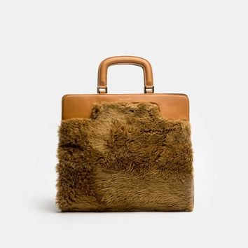 Large Bag in Camel