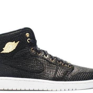 DCCK Air Jordan 1 Pinnacle ' Black Metallic '