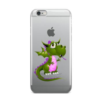 Draco Green Purple iPhone case