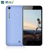 Original iRULU HOMTOM HT16 5.0'' 1280x720HD Smartphone MT6580 Android 6.0 Quad Core Mobile Phone 1GB+8GB ROM 8MP Cellphone