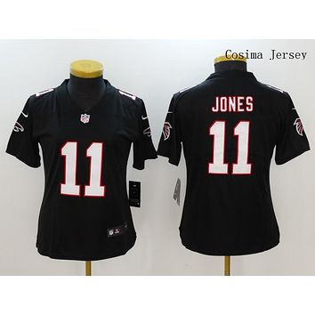 Danny Online Nike NFL Jersey Women's Vapor Untouchable Color Rush Atlanta Falcons #11 Julio Jones Football Jersey Navy