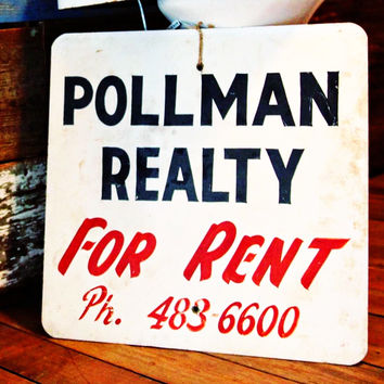 'Pollman Realty For Rent' Sign from Meridian MS