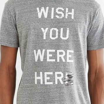 Poolhouse Wish You Were Her- Grey